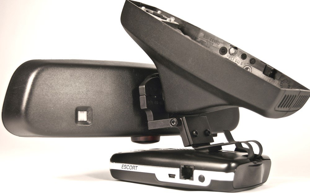 BlendMount BMW Aluminum Radar Detector Mount for Escort MAX 360/MAX2/MAX/GT-7 - Patented Design Made in USA - Looks Factory Installed by BlendMount (Image #3)