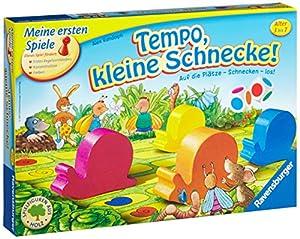 Ravensburger 21420 - erste Spiele Tempo, kleine Schnecke