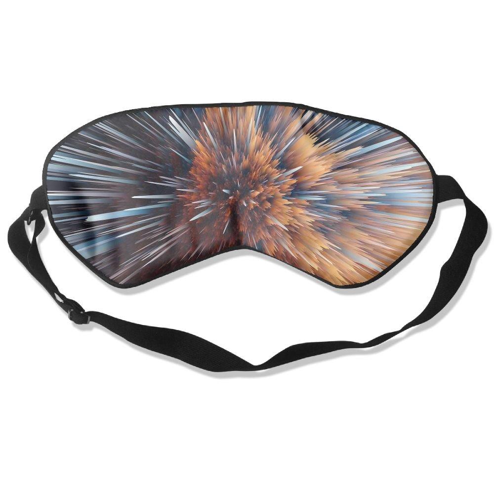 Particle Explosion Fun Art Sleep Eyes Masks - Comfortable Sleeping Mask Eye Cover For Travelling Night Noon Nap Mediation Yoga