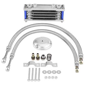 KIMISS 65 ml motor de la motocicleta Transmition Oil Cooler Sistema de radiador de refrigeración del