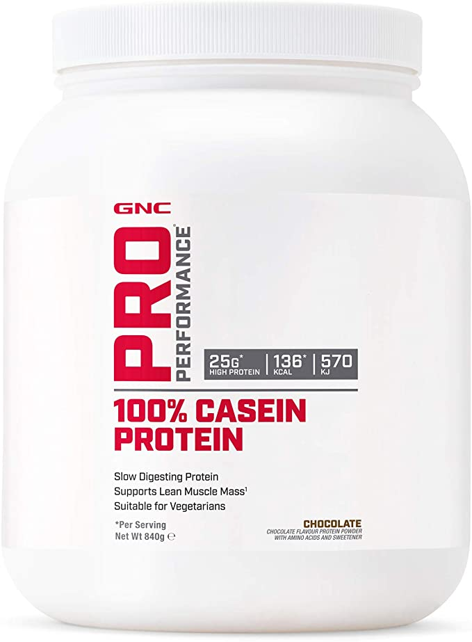GNC Pro Performance 100% Casein Protein Powder - Chocolate ...