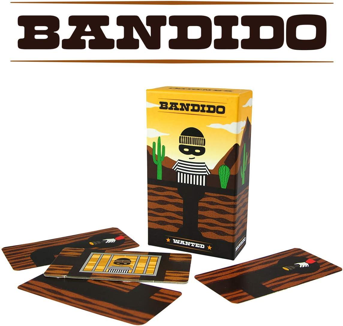 Lúdilo Educativo para niños Bandido Juego de Cartas educati: Amazon.es: Juguetes y juegos