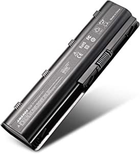 Amanda MU06 MU09 593553-001 593554-001 636631-001 Laptop Battery Replacement for HP CQ32 CQ42 CQ43 CQ56 CQ62 CQ72 G32 G42 Series 10.8V 5200mAh 6-Cell