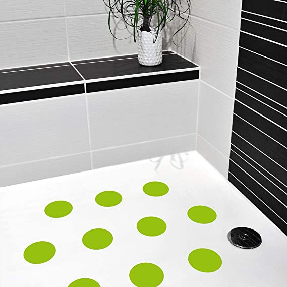 Sharplace 10Pcs Anti Rutsch Streifen f/ür Dusche Badewanne Selbstklebender Rutschschutz