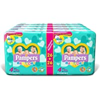 Pampers Baby Dry Duo Maxi, 208 Pannolini, Taglia 4 (7-18 kg)