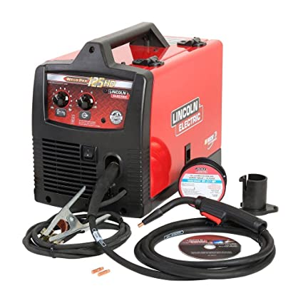 Lincoln Electric Weld Pak 125 Hd Wire Feed Welder Amazon Com