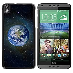 Paccase / Hard Protective Case Cover for - Space Planet Galaxy Stars 59 - HTC DESIRE 816