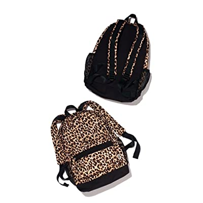 durable modeling NEW PINK Cheetah Print Backpack W/ Bottle Holders