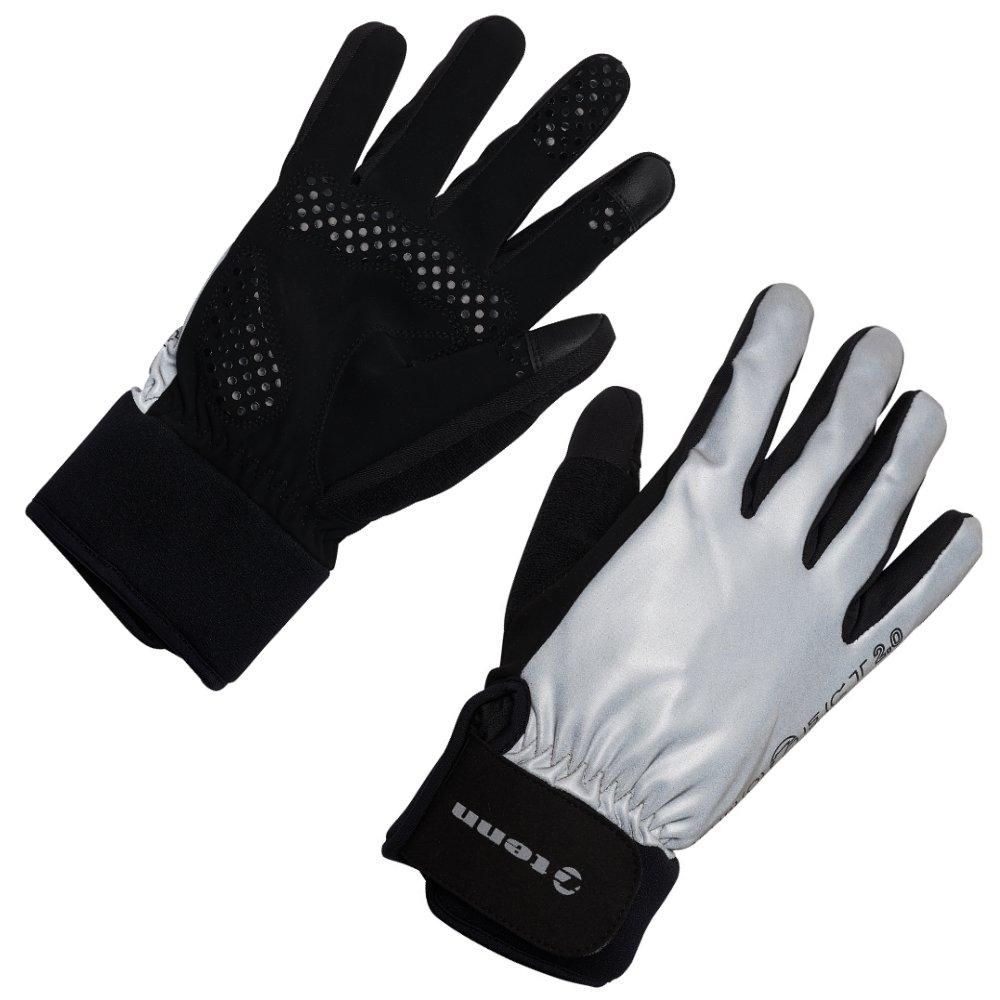 Tenn Storm防水冬用サイクリンググローブ Circ 25.5cm - 2XL ブラック(Black/Reflective) B01LZPSIKW