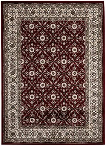 Antique Collection Vintage Oriental Area Rug, 5 2 x 7 2 , 2785-Red