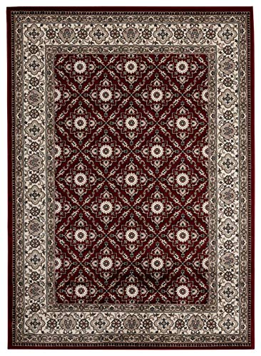 Antique Collection Vintage Oriental Area Rug, 7 10 x 10 2 , 2785-Red
