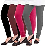 Pixie lets work together! Woolen Leggings for Women, Winter Bottom Wear Combo Pack of 4 - Free Size