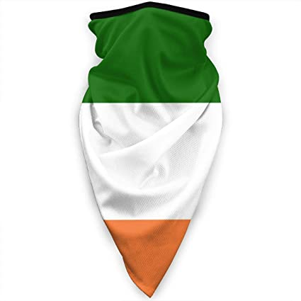 GREAT FOR SPORTS EVENT COME ON IRELAND UNISEX IRISH FLAG SCARF