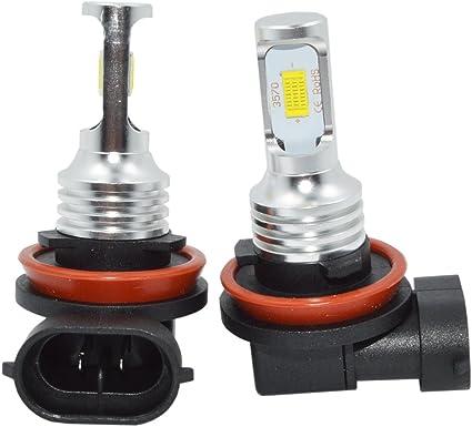H8 H11 6000K 100W High Power CREE LED Fog Driving Light Canbus Lamp Bulb White