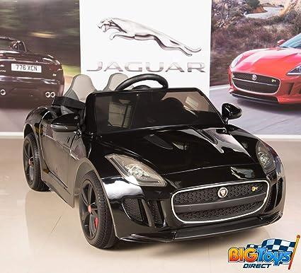 Amazon Com Big Toys Direct Jaguar F Type 12v Kids Ride On Battery