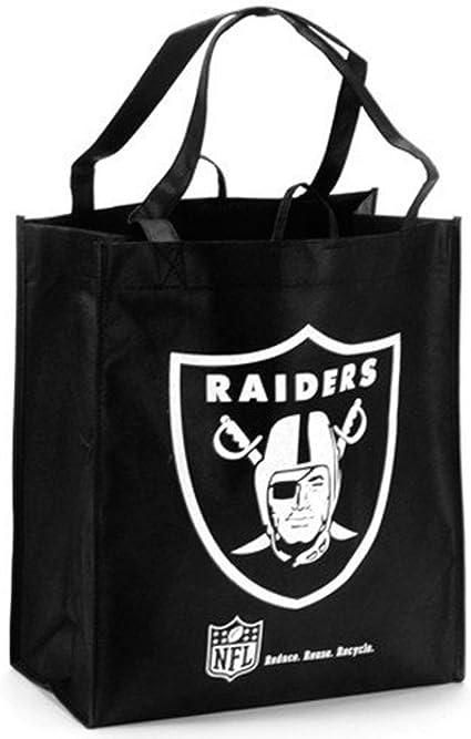 Oakland Raiders Clear Reusable Bag