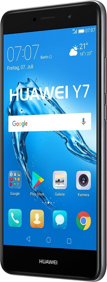 Huawei Y SIM doble G GB Negro Gris Smartphone cm  x