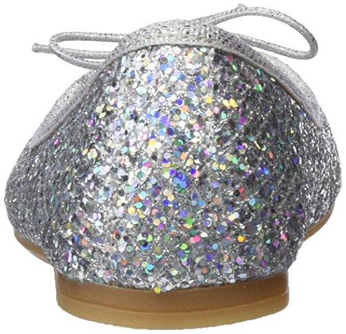 Conguitos Mercedes Glitter, Merceditas Para Niñas Plateado (Plata)