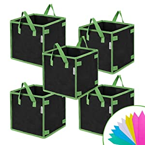 VIVOSUN Square Grow Bags