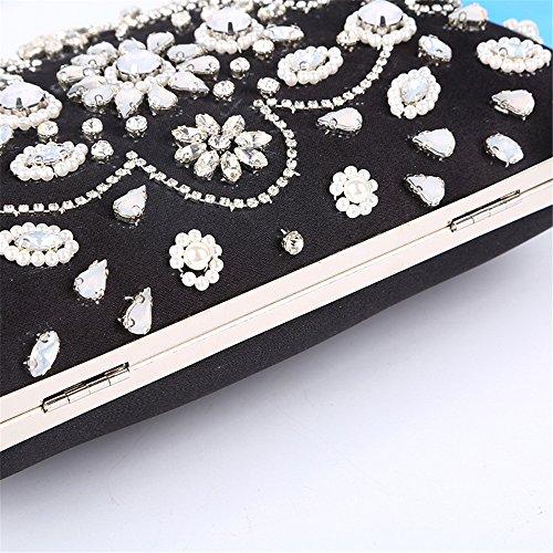 ChenYongPing dam aftonväska handväska bal väska handväska kvinnor strass kuvertväska elegant brud bal handväska