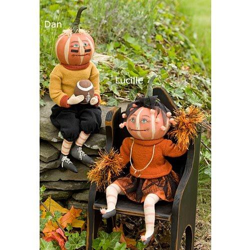 (Dan Pumpkin Soft Sculpture)