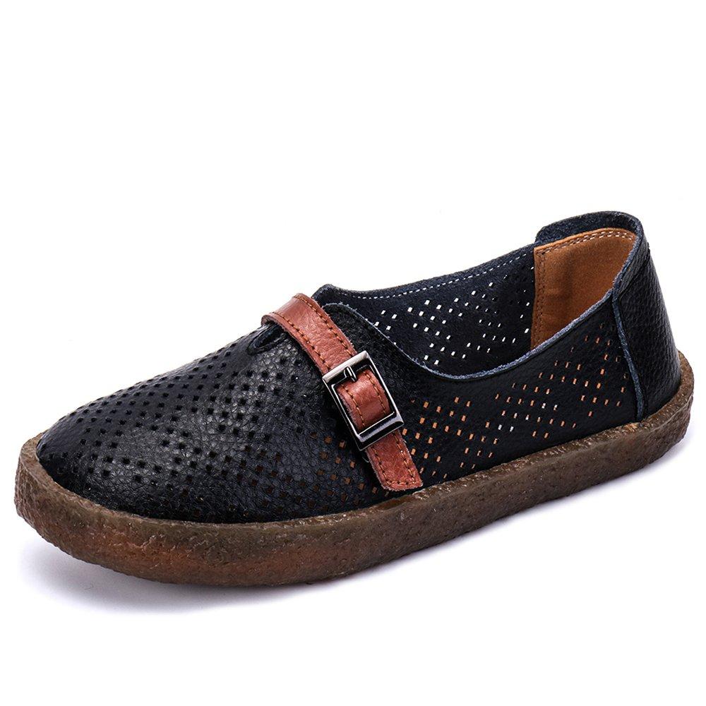 aleader Loafers, Mocassini Donna Black918