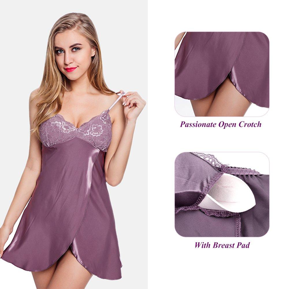 Utimi Frauen Sexy Dessous Spitze Nachtwäsche Lingerie Babydoll Unterwäsche Exotische Nachtkleid