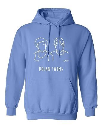 826d6edb9 Amazon.com: SHEKI APPAREL Dolan Twins Mens Hoodie Hooded Sweatshirt ...