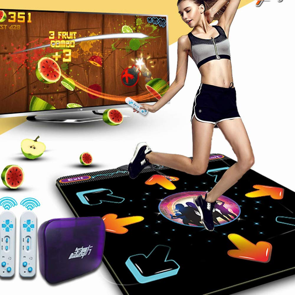 Dance mat Non-Slip Somatosensory Dance Machine Yoga Touch Sensitive PVC+ Environmentally Friendly Silicone Material, Tv Computer Dual Purpose, Unlimited Update by Dance mat (Image #3)