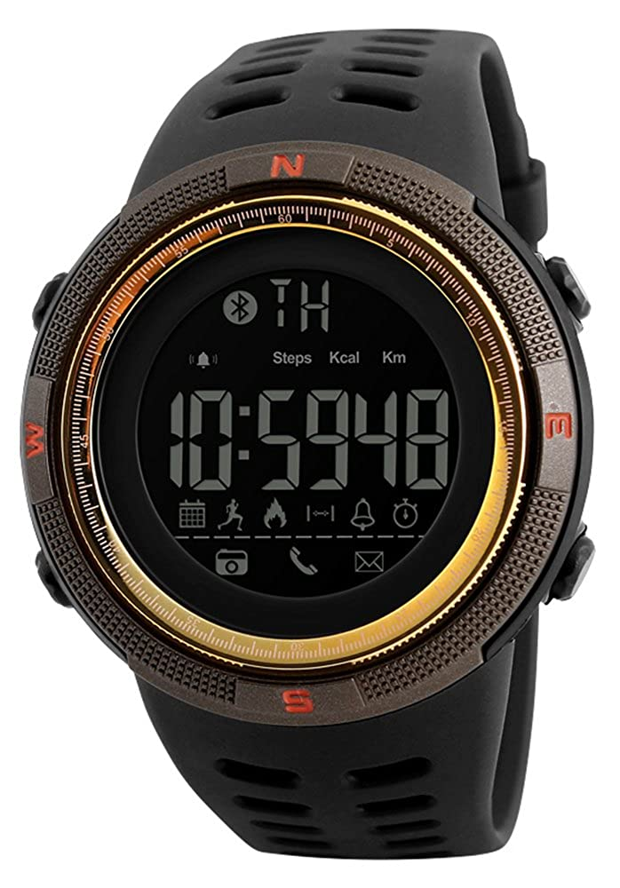 Amazon.com: Mastop Men Outdoor Sport Smart Watch Fashion ...