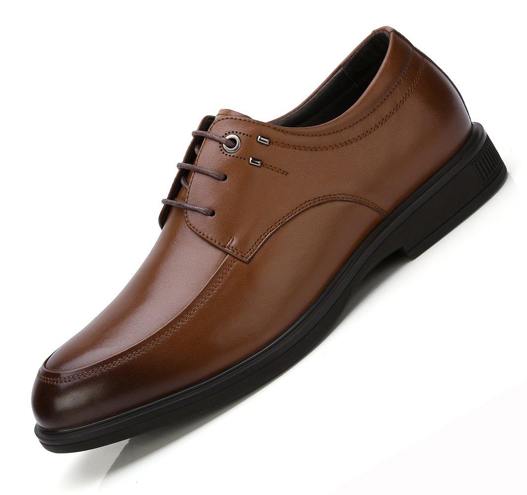 Scarpe Derby Uomo più recenti Scarpe Oxford in Vera Pelle con Lacci Abito Casual Scarpe Ufficio aziendali Formali Perfette per Uomini Adolescenti