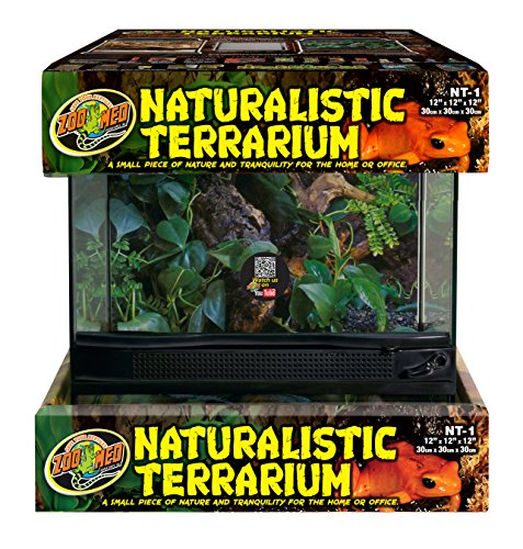 Zoo Med Laboratories SZMNT1 Naturalistic Terrarium, Small by Zoo Med