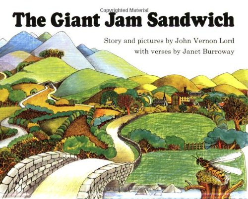The Giant Jam Sandwich Book & CD (Read Along Book & CD) by John Vernon Lord