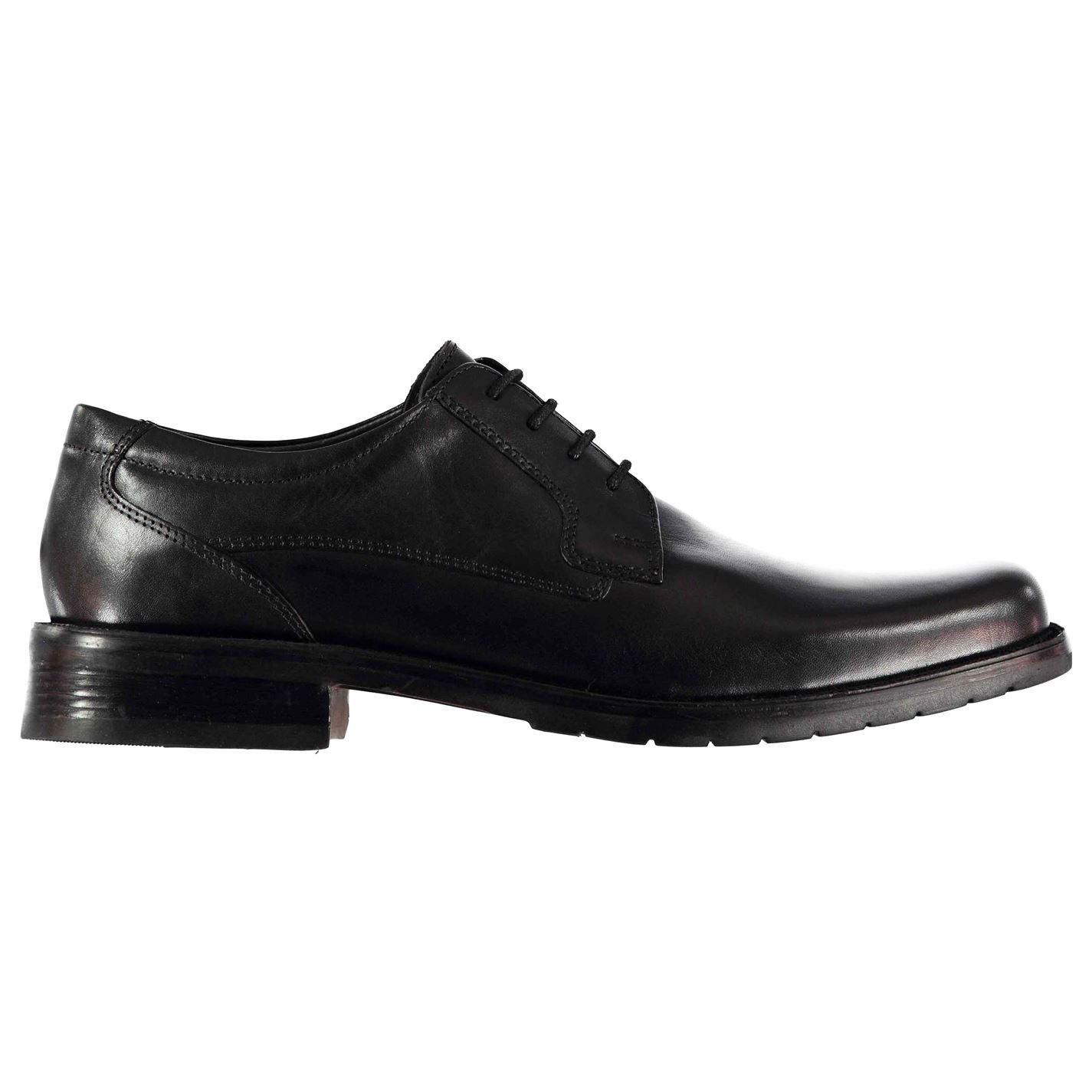 Kangol Mens Glinton Lace up Shoes Derby Slight Heel Formal