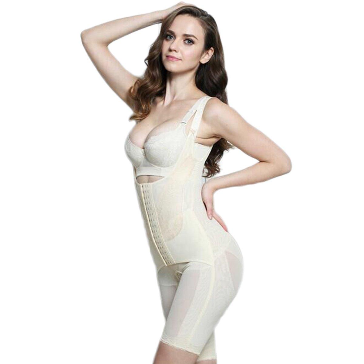 Womens Shapewear, Fascigirl Bodysuit Shapewear Tummy Control Underbust Body Shaper