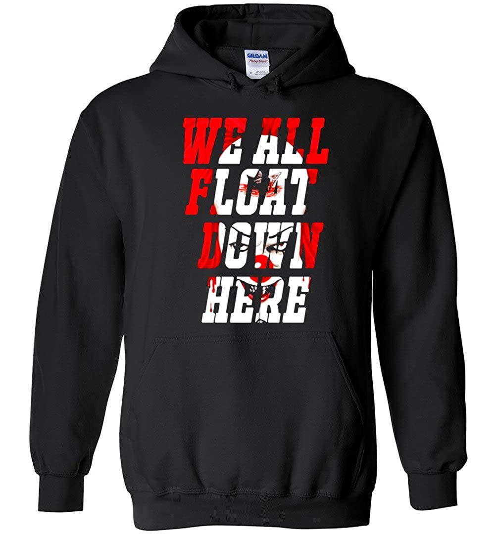 TSHIRTAMAZING The Clown We All Float Down Here Hoodie