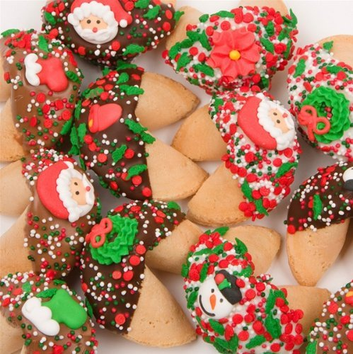 Holiday Fortune Cookies Individually Wrapped - Set of - Cookies Wedding Fortune