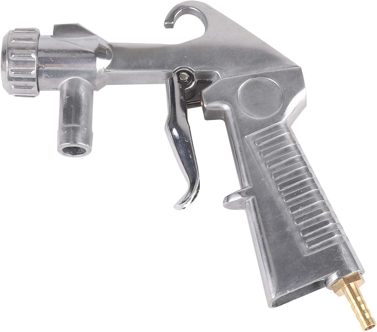 JUEYAN Sandstrahlpistole G1 mit 4 Eisend/üse Keramikd/üse 4//5//6//7mm f/ür Strahlkabinen SBC 90 220 350