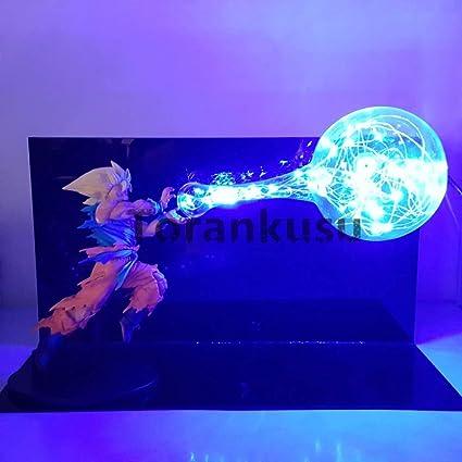 Led Lamps Lights & Lighting Dragon Ball Z Vegeta Diy Light Super Saiyan Kamehameha Led Lighting Cartoon Anime Dragon Ball Super Evil Vegeta Diy Light Dbz