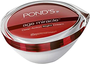 Pond's AGE Miracle Deep Action Night Cream Overnight Repair Anti Aging 50g