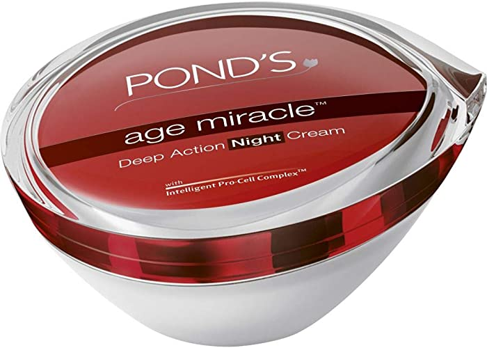 Top 10 Ponds Age Miracle Deep Action Night Cream