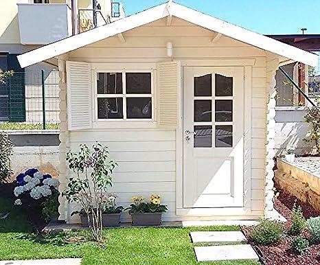Casetta In Legno Giardino : Dekalux casetta in legno da giardino amazon giardino