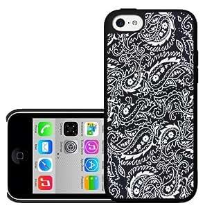 Black Bandana Hard Snap on Phone Case (iPhone 5c)