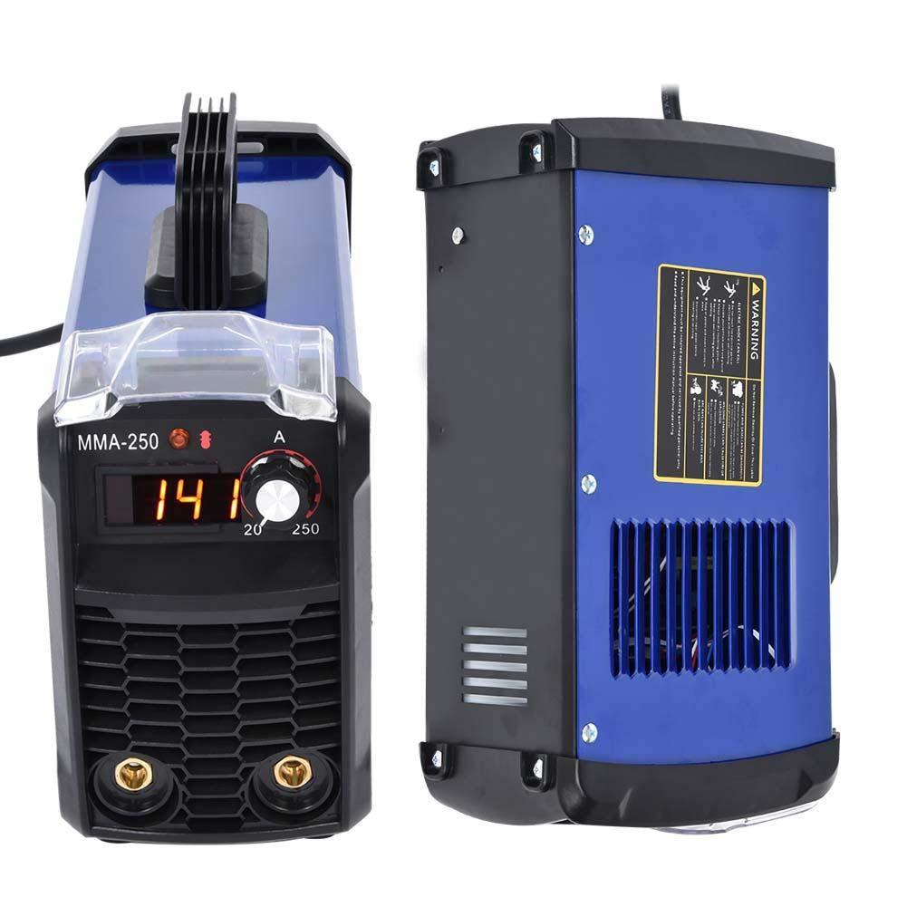 MMA-250 140 Amp DC Inverter Welding Machine Portable Digital Stick Welder 110V Input Voltage Welding Soldering
