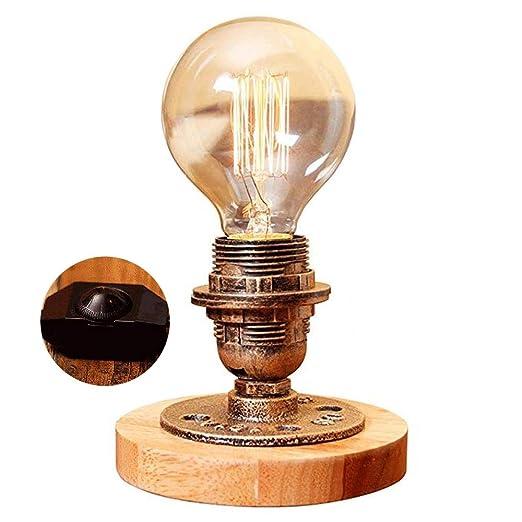 Lámparas de mesa vintage, base de lámpara de escritorio Steampunk ...