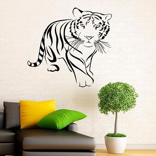 BFMBCH Forest King Tiger Beast Etiqueta de la pared Vinilo ...
