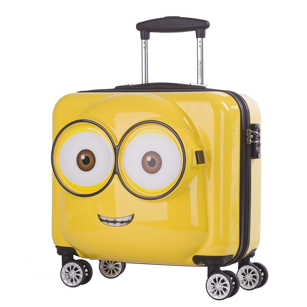 20'' Minions ABS Luggage Trolley Spinner Carry On Suitcase Travel Bags TSA Lock XHRJH102