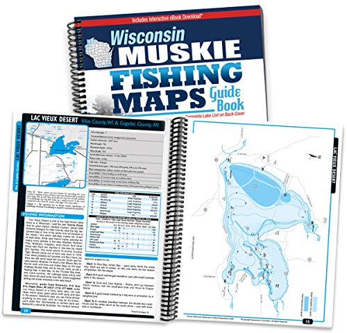 Top 10 best fishing maps wisconsin top reviews no for Best fishing in wisconsin
