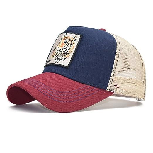 sdssup Gorra de Malla de algodón Gorra de béisbol para Mujer ...