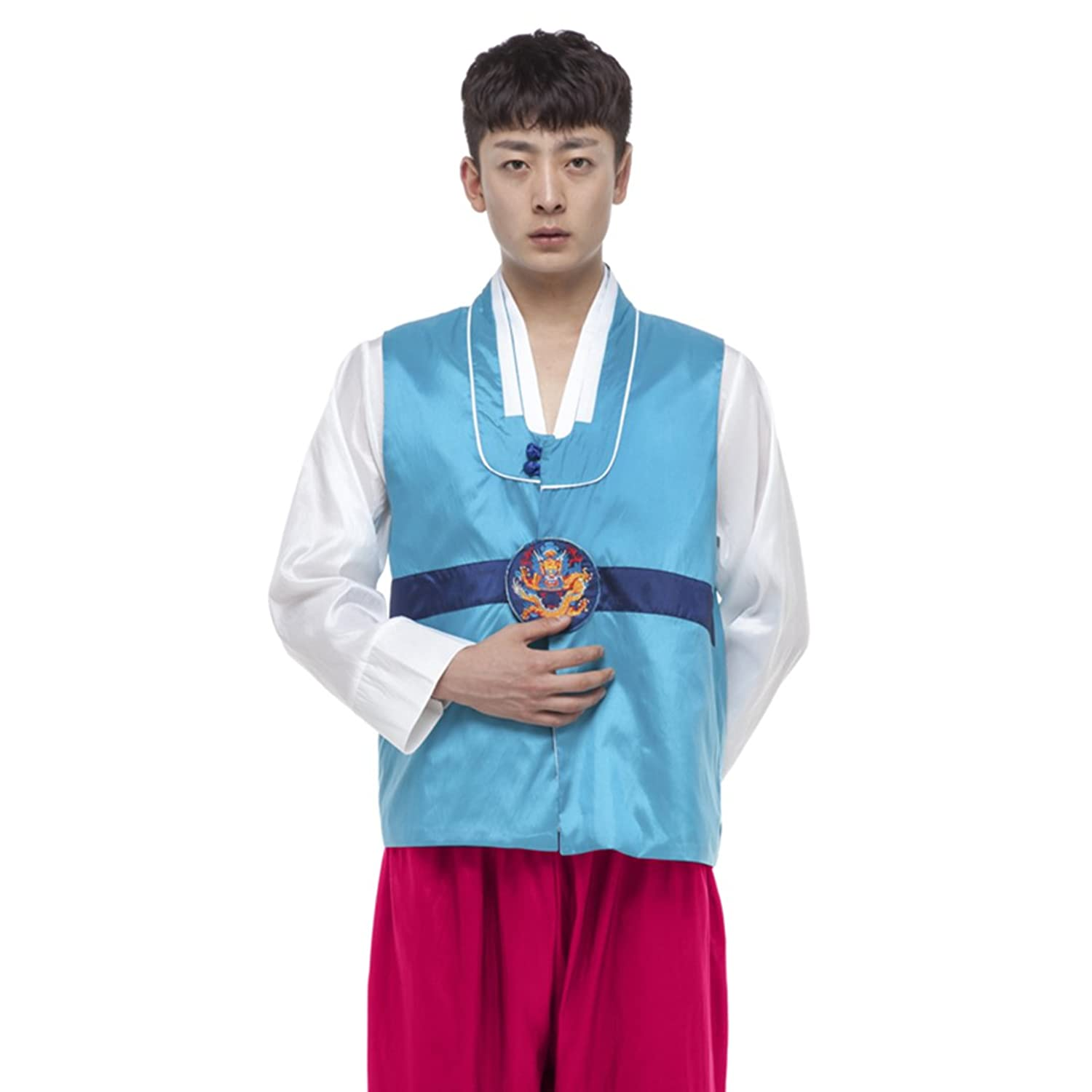 9a80722499cd Lemail Wig Korean Traditional Costume Hanbok Men Set Sc 1 St Amazon.com